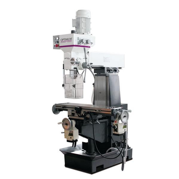 OPTImill MT 50E - Universelle Präzisions-Bohr-Fräsmaschine mit automatischen Tischvorschub in der X-