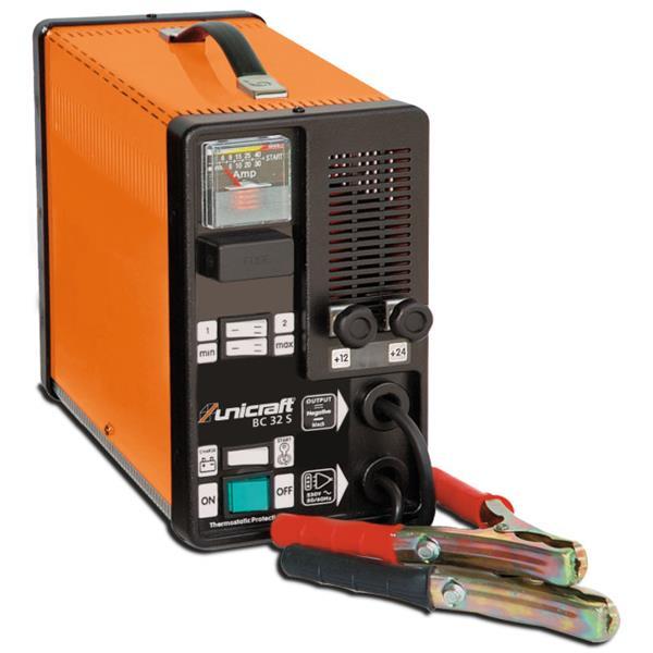 Unicraft Batterie Lade und Startgerät BC 32 S