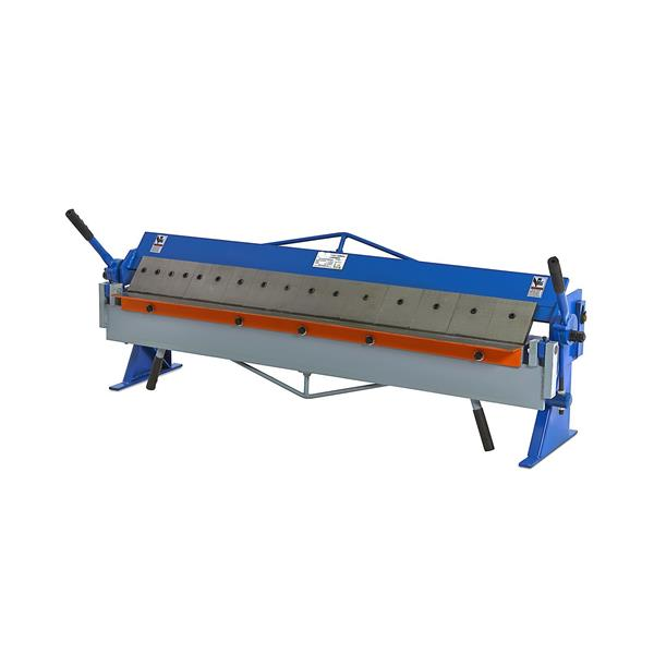Tischkantbank 1,5 x 1220 mm mit segmentiert Wangen. 5 x 50 - 6 x 75 - 5 x 100 mm