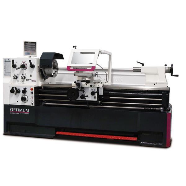 Drehmaschine Optimum Optiturn TH 5615 mit Digital - Anzeigesystem