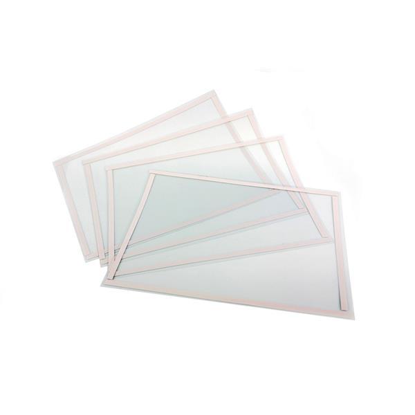 Fensterfolie ca. LxBxH 600 mm x 101 mm - Stückpreis