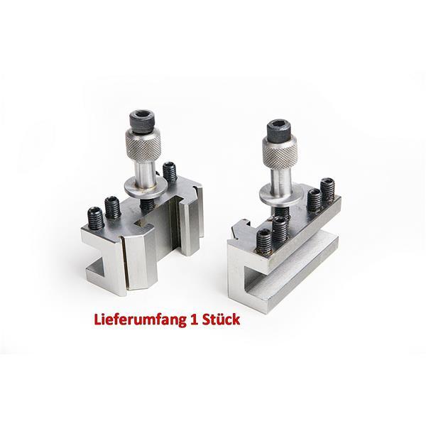 Dixon Stahlhalter K für quadratische oder eckige Drehstähle. Für Grundkörper 58x58mm