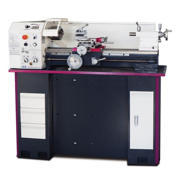 Drehmaschine Opti turn TU 2807 V - Vario Leitspindeldrehmaschine mit Vorschubgetriebe für den anspru