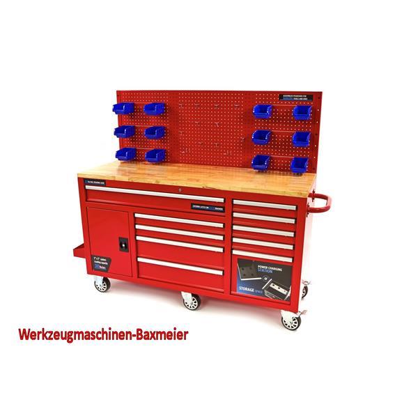 Werkstattwagen - Werkzeugwagen mit Schubladensystem und Rückwand