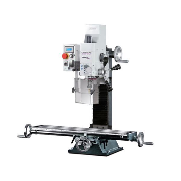 Optimum Bohr / Fräsmaschine BF 20 L Vario, Drehzahlbereich 90 - 3000 U/min, 0,85 KW