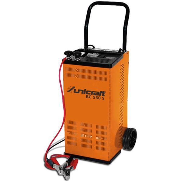 Unicraft Batterie Lade und Startgerät BC 550 S