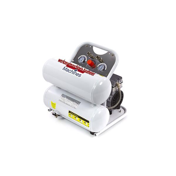 Super Leiser Kompressor mit 20 Liter Kessel und nur 60 dB Lautstärke