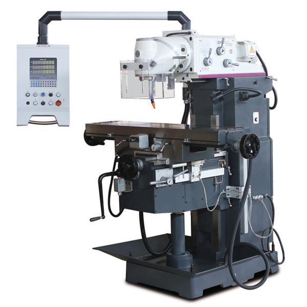 OPTImill MT 130S Fräsmaschine mit 3-Achsen-Positionsanzeige