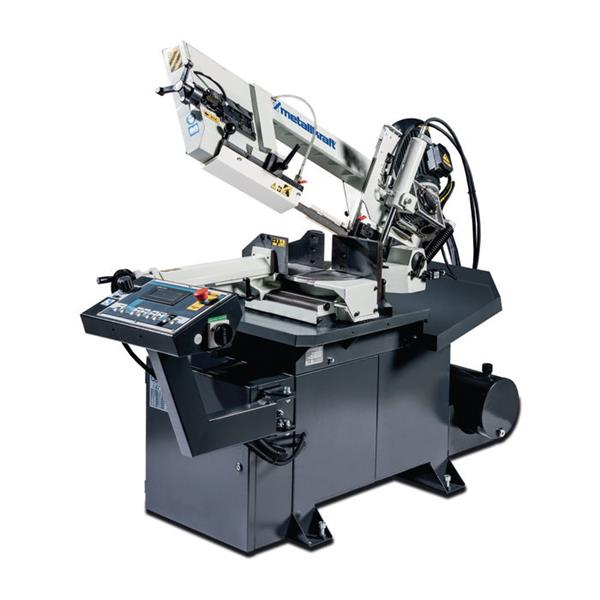 Metallbandsägemaschine BMBS 230/280 mit Doppel - Gehrungsschnitt