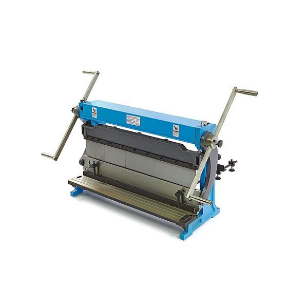 760 mm 3 in 1 Biegemaschine, Kantbank, Blechschneidemaschine in einem, ohne Unterbau
