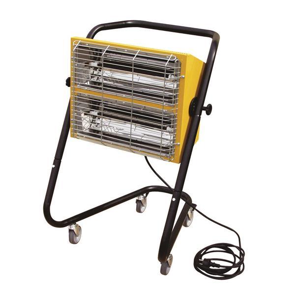 Infrarot Heizer für die KFZ Werkstatt und Lacktrocknung