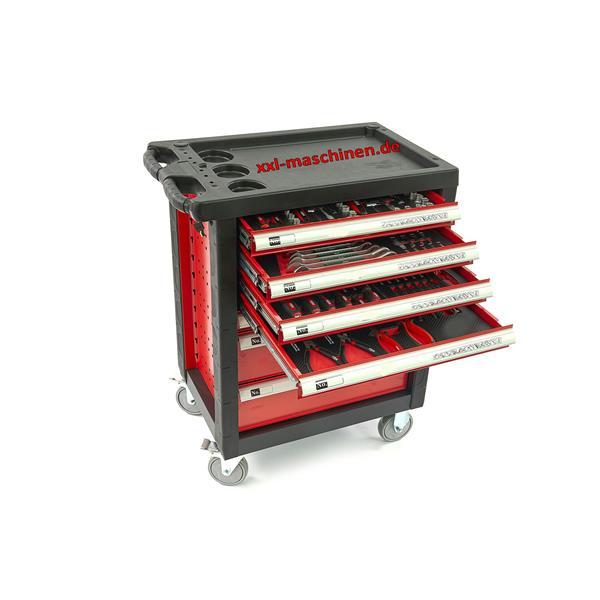 Werkstattwagen mit 154 tlg. Werkzeugsatz