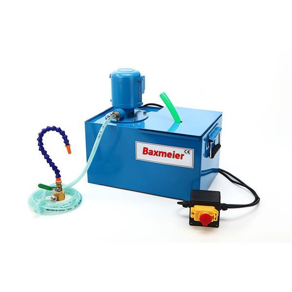 Kühlmittelpumpe mit 12 L MET-Tank, blau Kühlmittelschlauch, Schalter 9 KG 230 V