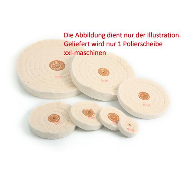 100 mm Polierscheibe zum nachpolieren für allgemeine Polierarbeiten