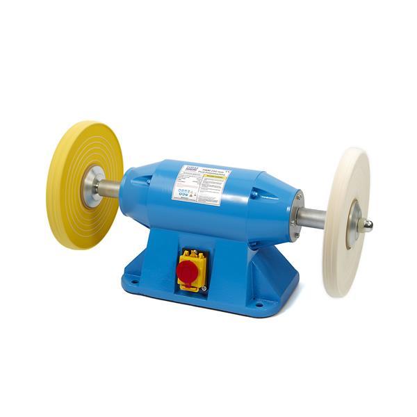 professionelle, leistungsstarke Poliermaschine 200 mm / 900W/230V Leerlaufdrehz. 2950 /Welle 16 mm