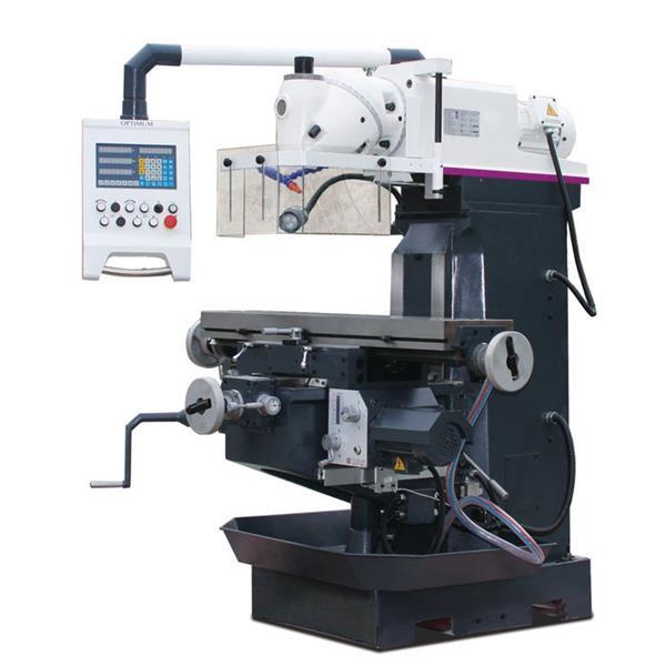 OptiMill MT 100 Fräsmaschinen mit 3-Achsen-Positionsanzeige