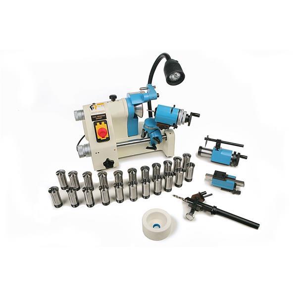 Stichelschleifmaschine für Bohrer, Stichel, Meißel usw. Lieferumfang w. auf Bild abgebildet.