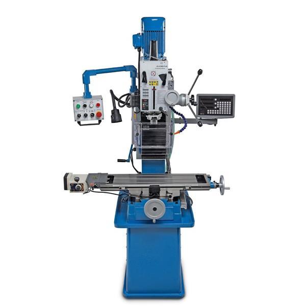 Fräsmaschine Fräse HB 45 Pro SK 30 Spindel 400 Volt DPA 3 Achs - Anzeigesystem