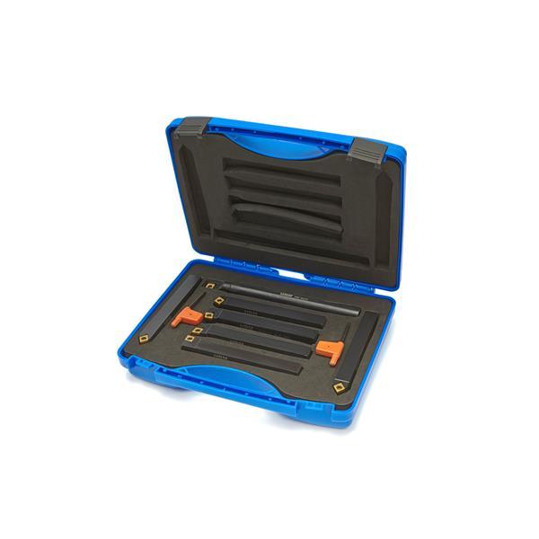 7 Teiliges 6 mm Drehmeissel Set mit Wendeplatten