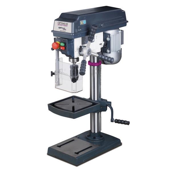 Tischbohrmaschine Opti B 17 Pro max. Bohrleistung in Stahl 16 mm + Schraubstock