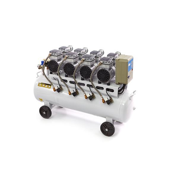 Leise laufender Kompressor 120 Liter Kessel