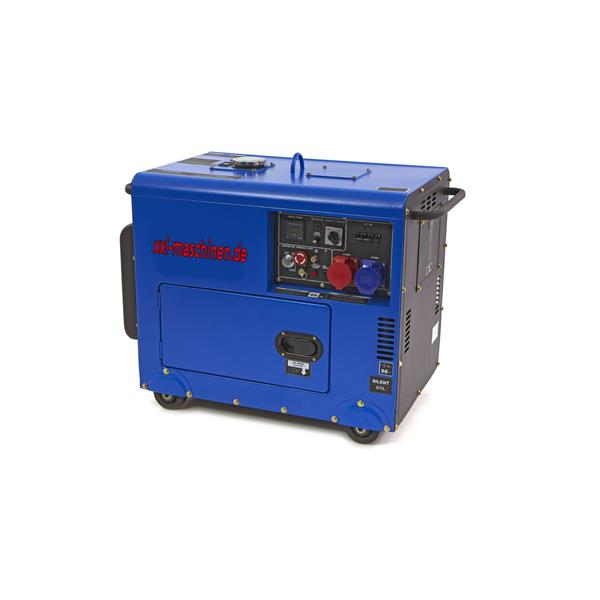 Diesel Generator DHY8500SE-T Standby 7.0Kw Diesel Power Generator / Aggregat