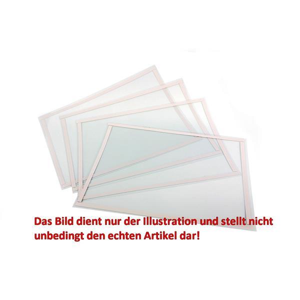 Schutzfolie für die Lampenabdeckung der Sandstrahlkabine SBC 350 und ähnliche. Maße 60 x 10 cm