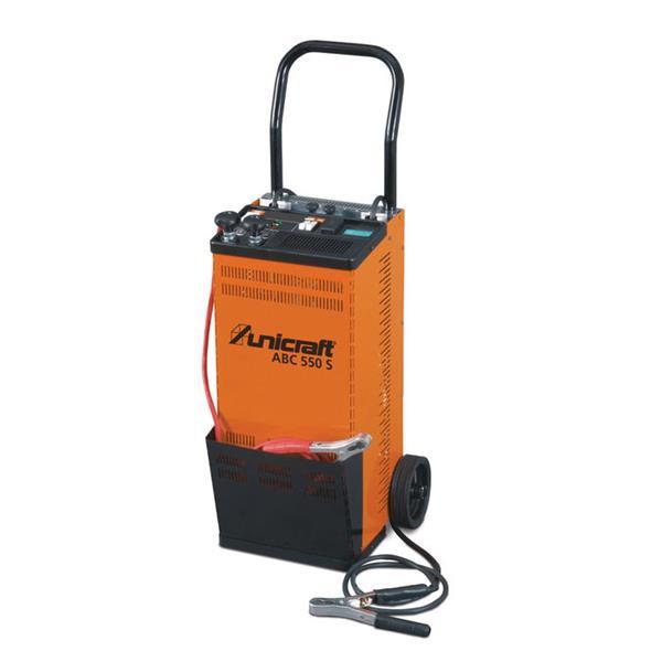 Unicraft Batterie Lade und Startgerät ABC 550 S