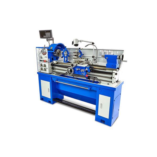Leit und Zugspindeldrehmaschine mit 38 mm Spindeldurchlass und 3 Achs - digital Ablesesystem