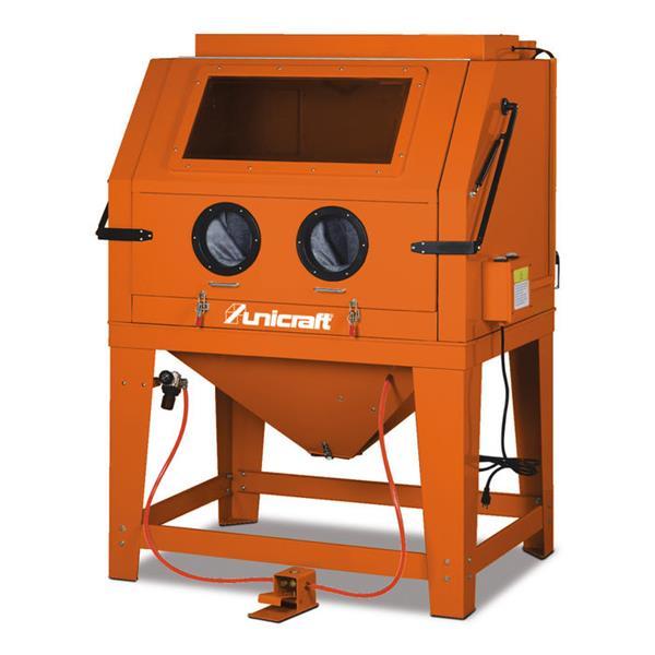 Unicraft Sandstrahlkabine, Glasstrahlkabine SSK 4