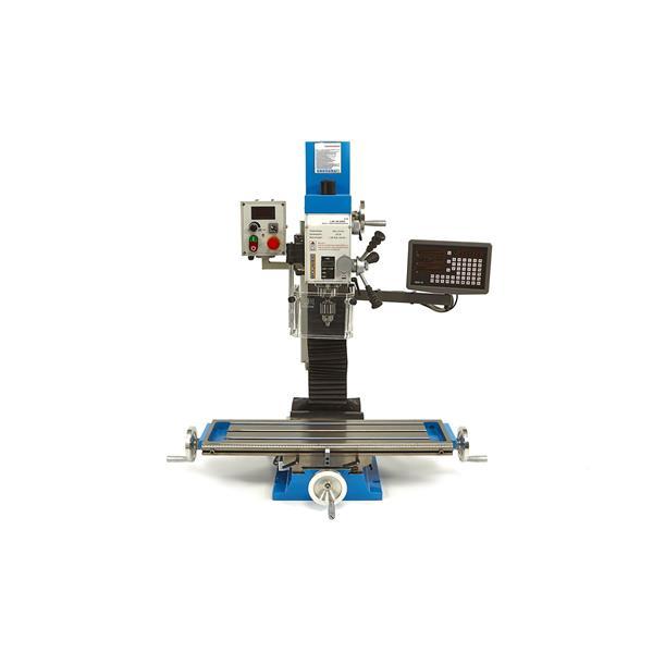 Fräsmaschine BF 30 mit variabler Drehzahl 840 mm Tisch, + 3 Achs Digital Positionsanzeigen