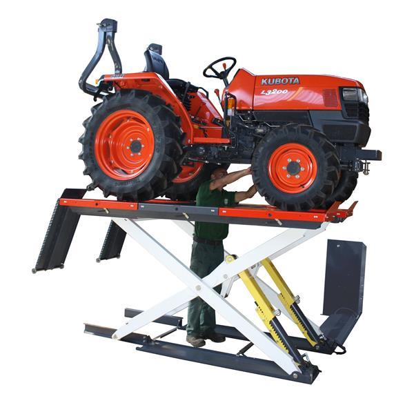 MOH 2000 Elektrohydraulische Hebebühne für Kleintraktoren Rasenmäher usw.