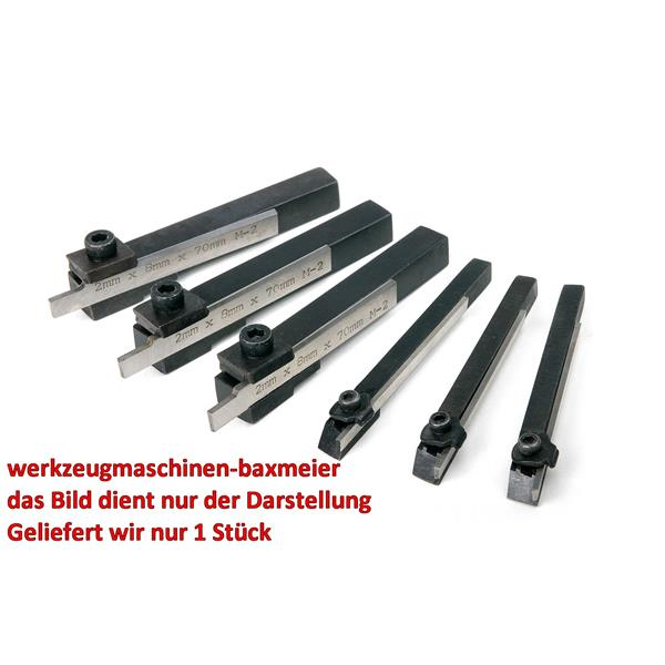 10 mm Abstechmesser Abstechmeissel mit HSS Messer