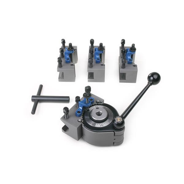 Schnellwechselhalter für Drehmeissel geeignet für Maschinen mit Max. 200 mm Drehdurchmesser