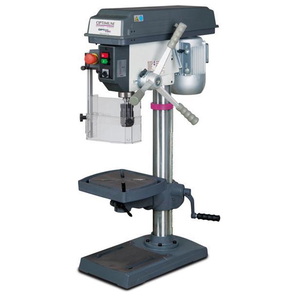 OPTI B 23 PRO Bohrmaschine / 400 Volt inkl. Maschinenschraubstock