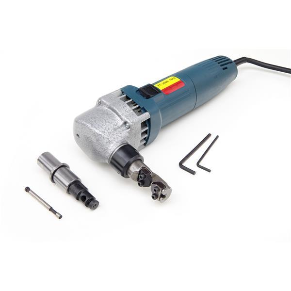 Blechknabber Typ D 380 Watt Stahl b. 1,2 mm Alu bis 1,8 mm im Koffer