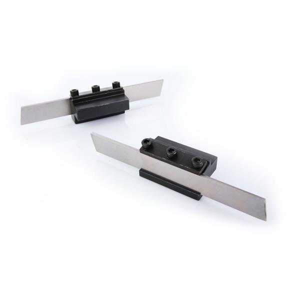 Drehmeissel Abstechmeissel Abstechmesser HSS 2x12x90mm Abstechhalter 12,5x56 mm