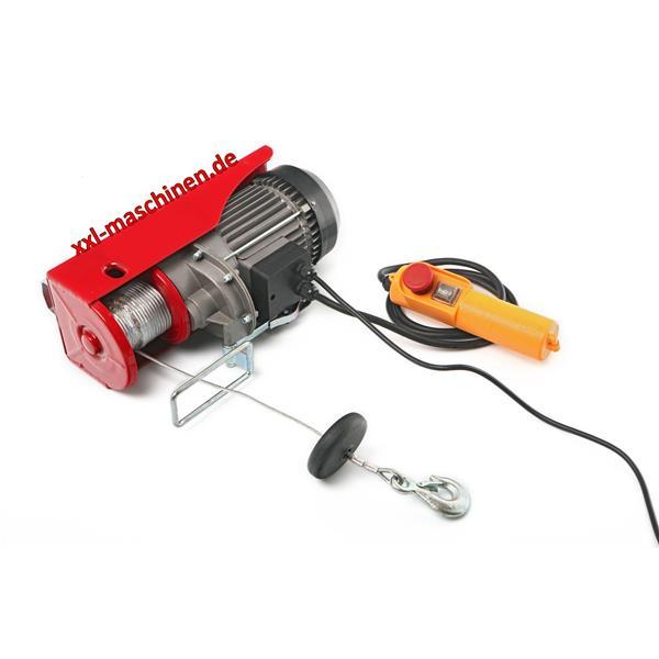 Elektrischer Seilzug/ Seilwinde 600 kg