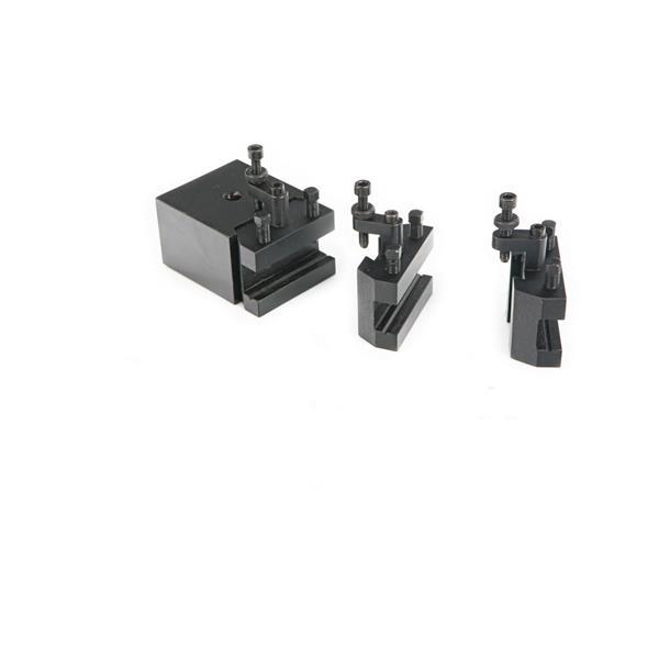 Schnellwechselhalter für kleine Drehmaschinen bis ca. 500 mm Spitzenweite