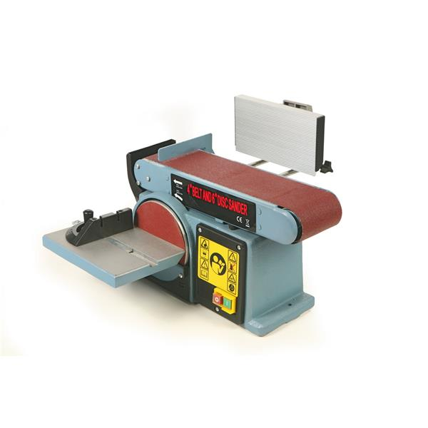 Band und Tellerschleifmaschine 440 watt / 230 V/ Band 100 x 910 mm