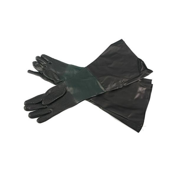 Gummihandschuhe für Sandstrahlkabinen Nr. ZA 24656 / 01613