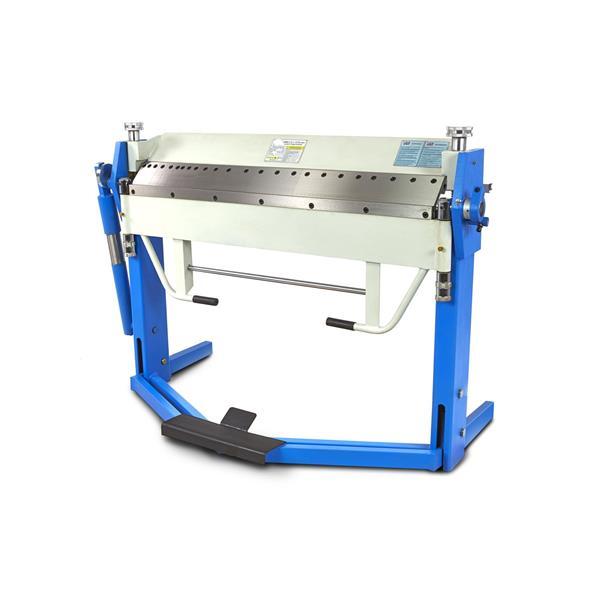 Kantbank 1020 x 2,5 mm, Schwenkbiegemaschine mit Fußbedienung