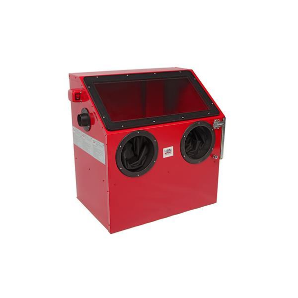 Glasstrahlkabine Sandstrahlkabine SBC 110 - Kompaktgerät ca. 110 Liter ca. 49 x 37 x 38 cm