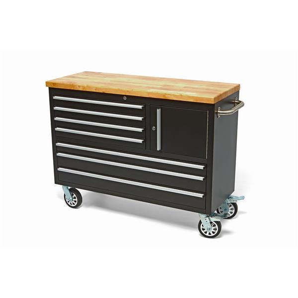 Werkstattwagen Werkzeugwagen mit Holzplatte