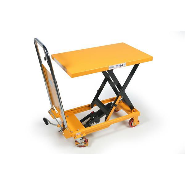 Hydraulischer Hubtisch bis 150 KG Last 700x450 mm min.H 230 max. H 700 mm