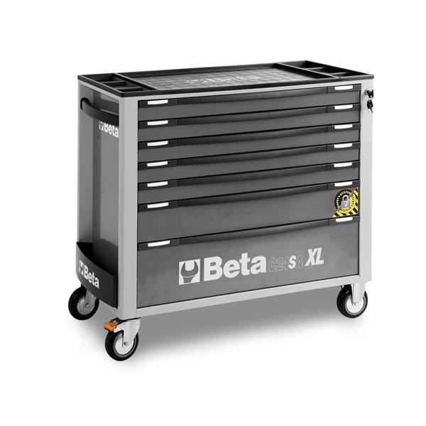 Beta Werkzeugwagen Werkstattwagen mit 7 Schubladen 7 XL- C24SA XL-7 / G - 024 002 272