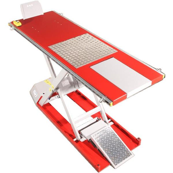 Scherenhebebühne EC - Flat-Lifter EH 530 - Rot MADE IN GERMANY! Farbe Rot